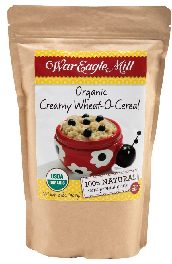 organic creamy wheat o cereal