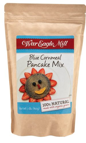 blue cornmeal pancake mix