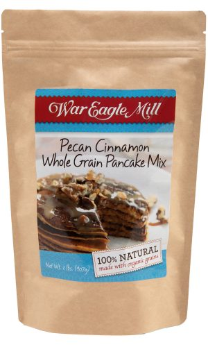 pecan cinnamon whole grain pancake mix