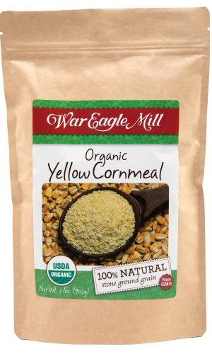 organic yellow cornmeal