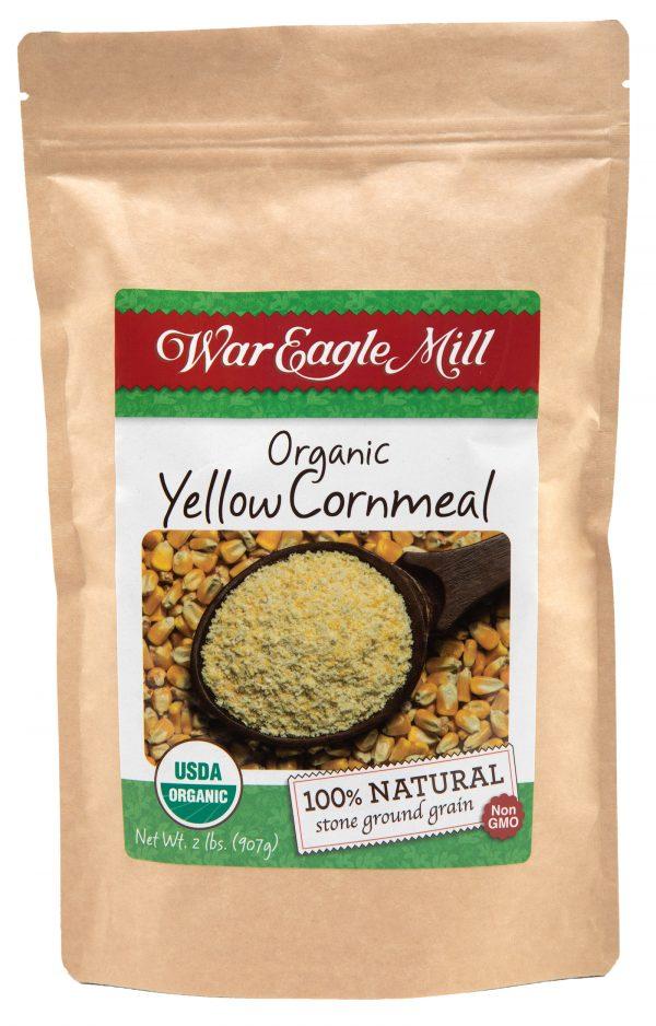 organic yellow cornmeal