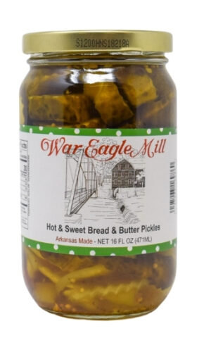 Hot Sweet Bread and Butter Pickles