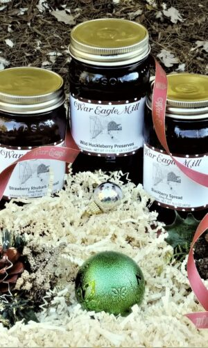Gift set of preserves