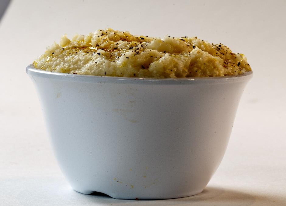 Cauliflower Bits 'N Grits