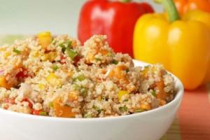 Quinoa & Sweet Potato Salad