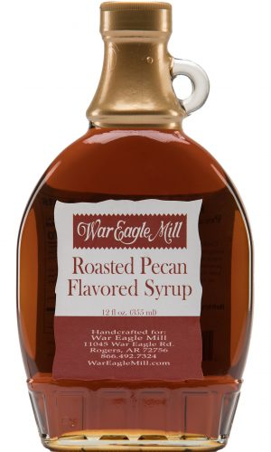 roasted pecan flavored syrup