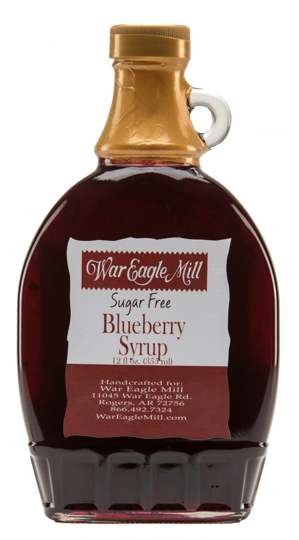 sugar free blueberry syrup