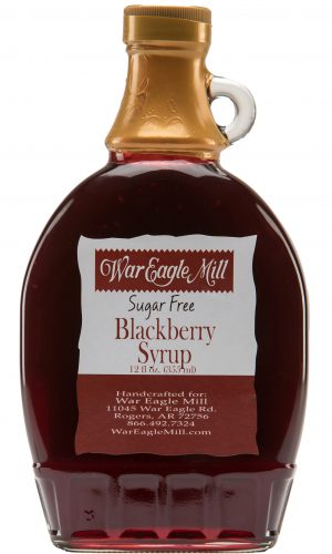 Blackberry Syrup Sugar Free Label