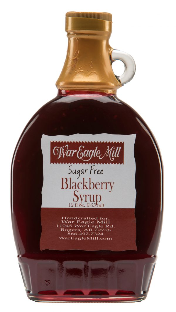 Blackberry Syrup Sugar Free Label