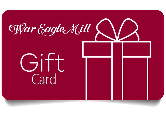 War Eagle Mill Gift Card